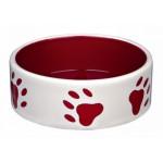 Castron Ceramica 0.3l/12cm Cremcu Rosu 24415